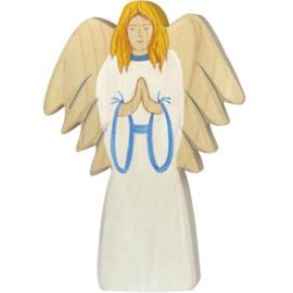 Holztiger kerststal engel (80299)