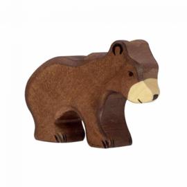 Holztiger houten berenwelp (80185)