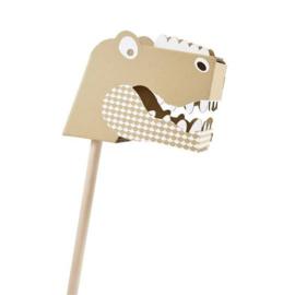 Stokpaard karton | dino