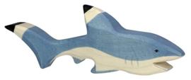 Holztiger houten haai (00000)