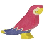 Holztiger houten papegaai (80178)
