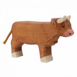 Holztiger houten hooglander koe (80556)