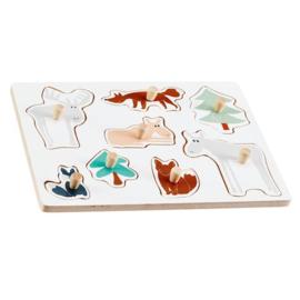 Houten kinderpuzzel | Kids Concept