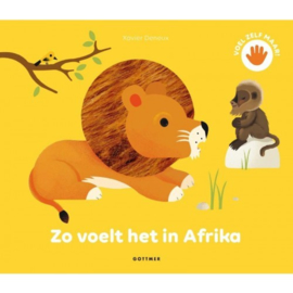 Zo voelt het in Afrika | voelboek