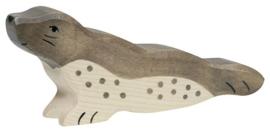 Holztiger houten zeehond (80350)