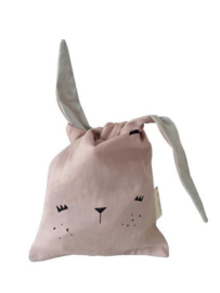 Lunchtasje | konijn roze