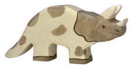 Holztiger houten  Triceratops (80336)