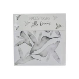 Muurstickers kinderkamer | kolibrie