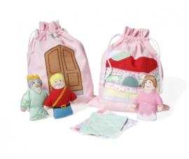 Storybag prinses op de erwt | Oskar & Ellen