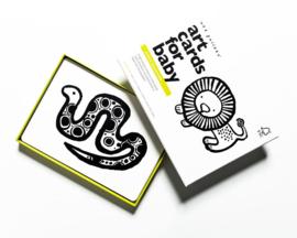 Wee Gallery | Art Cards voor baby's | jungle