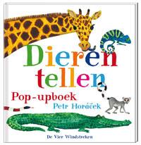 Dieren tellen | Pop-up boek