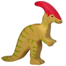 Holztiger houten Parasaurolophus (80340)