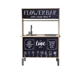 Stickerset flowerbar |  Ikea keukentje hack