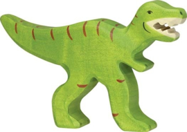 Holztiger houten Tyrannosaurus Rex  (80331)