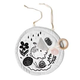 Wee Gallery | Activiteitenmatje baby (bio katoen) | konijn