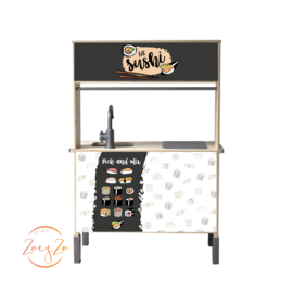 Stickerset sushi |  Ikea keukentje hack