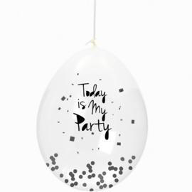 Confetti ballonnen kinderfeestje | party