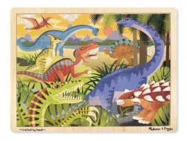Dinosaurus puzzel | 24 stukjes