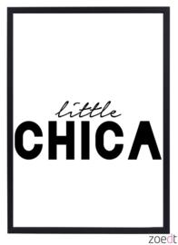 Kinderkamer poster | little chica