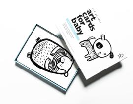 Wee Gallery | Art cards voor baby's | huisdieren