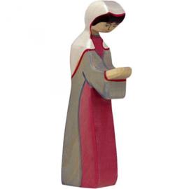 Holztiger kerststal Maria (80296)