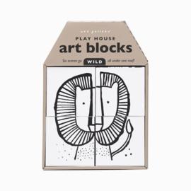 Wee Gallery | Kunstblokken 3-in-1 | wild