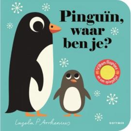 Pinguin waar ben je | kartonboek