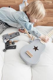 Houten Gitaar grijs | Kids Concept
