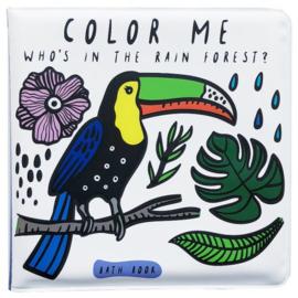 Wee Gallery | Badboekje verkleurend | regenwoud
