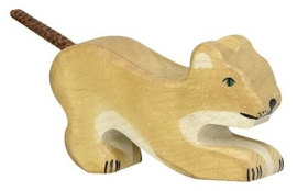 Holztiger houten leeuwenwelp (80142)
