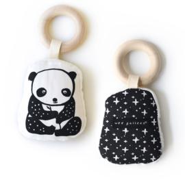 Wee Gallery | Bijtring voor baby's  (bio katoen) | panda