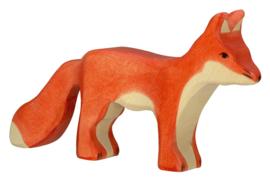 Holztiger houten vos (80095)