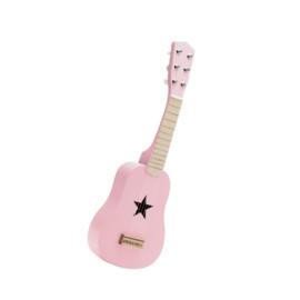 Houten gitaar roze | Kids Concept