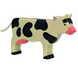 Holztiger houten koe (80003)