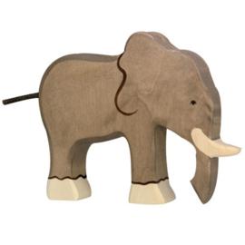 Holztiger houten olifant (80148)