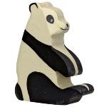 Holztiger houten panda (80191)
