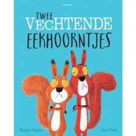 Twee vechtende eekhoorntjes | prentenboek