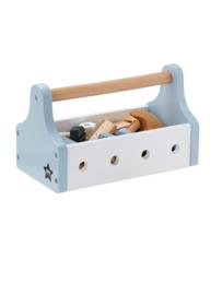 Gereedschapskist  en tools | blauw