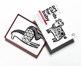 Wee Gallery | Art Cards voor baby's | boerderij