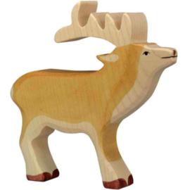 Holztiger houten ree (80088)