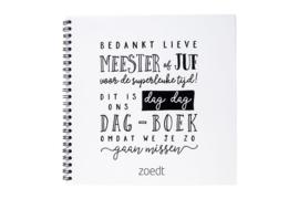 Afscheidsboek meester / juf