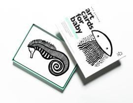 Wee Gallery | Art cards voor baby's | oceaan