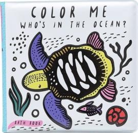 Wee Gallery | Badboekje verkleurend | oceaan