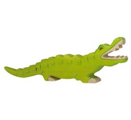 Holztiger houten krokodil (80174)