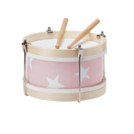 Houten trommel roze | Kids Concept