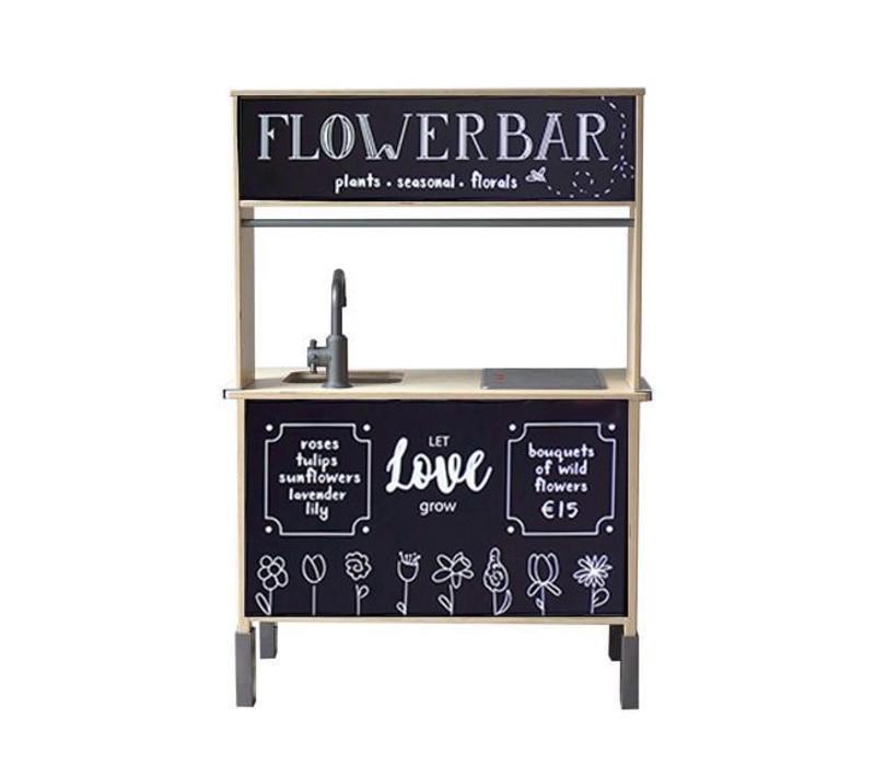 Stickerset flowerbar    Ikea keukentje hack