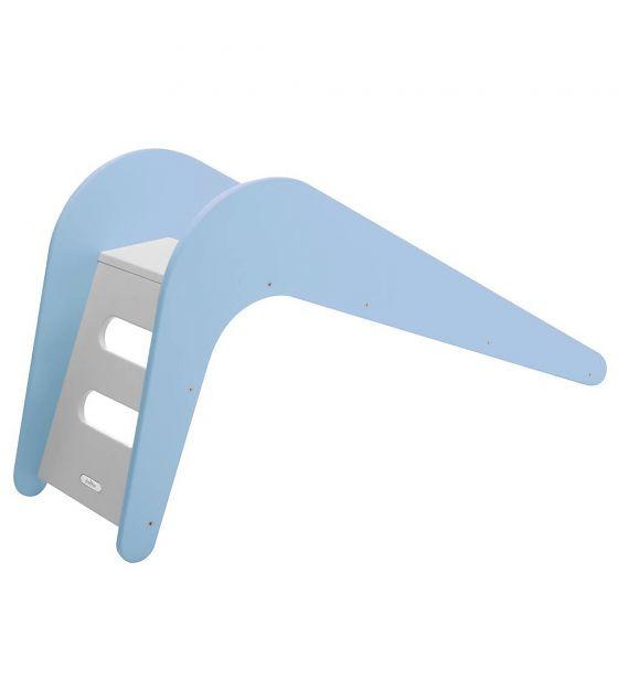 Houten glijbaan Jupiduu   blauw