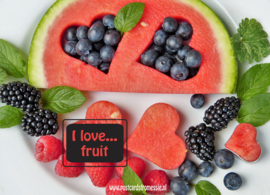 I love...fruit