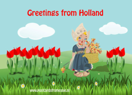 Greetings from Holland - tulpen