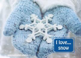 I love...snow
